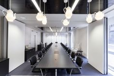 Cool offices: Office Space in Town Serviced offices by Peldon Rose in Waterloo,  UK
