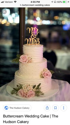 What is Truly Going on with Mouth-watering Floral Wedding Cakes for Spring and Summer Turns out, creating a wedding cake isn't as difficult as one may think. As soon as you start seeking your wedding cake topper you will see… Continue Reading → 3 Tier Wedding Cakes, Wedding Cake Roses, Buttercream Wedding Cake, Floral Wedding Cakes, Wedding Cake Rustic, Wedding Cakes With Flowers, Elegant Wedding Cakes, Beautiful Wedding Cakes, Wedding Cake Designs