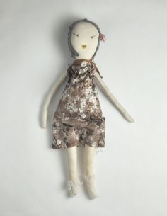 doll Sarah Morrison via Rowena Murillo    Repinned 1 year ago from crafts and stuffed creations