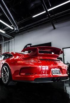 Visit The MACHINE Shop Café... ❤ Best of Porsche @ MACHINE ❤ (Red PORSCHE 911 GT3 Coupé)