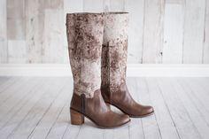 Boots Batik Brown by Frou Frou Shoes @froufroushoes  #froufroushoes #shoes #batik  #designer