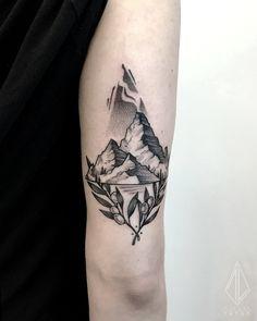 VOLCANIC SANTORINI Instagram: TiffLeeTattoo Destiny Tattoo in Athens, Greece