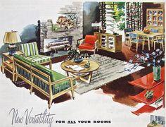 Vintage MIDCENTURY DREXEL Furniture  by ACMEVintageLimited on Etsy, $6.50