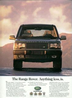 The Range Rover. Anything less, is. 2 - ROVERHAUL.com, Land Rover Restorations & Pictures P38