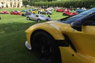Heveningham Hall Concours d'Elegance 2017: picture special  LAFERRARI APERTA - A LaFerrari Aperta overlooks the other entrants on the top tier of the terrace.  We've been to Heveningham Hall in Suffolk for one of the newest Concours out there. Scroll through our gallery for the our favourite entrants.  Now in its second year the Heveningham Hall Concours dElegance takes a familiar formula and gives it a little twist. Rather than boringly arranging the cars on a flat lawn they are spread over…
