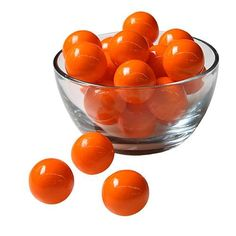 These Orange Solid Color Gumballs are sure to add color and definition to your party. Place these Orange Gumballs in glass dishes to accent your party tables. Nerf Birthday Party, Candy Buffet Tables, Candy Display, Peppermint Candy, Glass Dishes, Party Guests, Gumball, Chocolate Cookies, Red And White