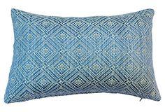 Woven Silk Quilt Pillow