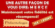 Fidélité récompensé chez Philantologie.fr