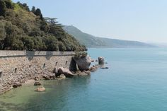 the view from the Miramare castle