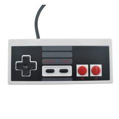 NES mango con cable controlador de PC/USB/NES nes juego de ordenador mango Retro mango USB Controlador