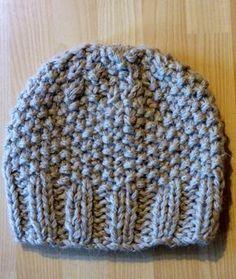 Tricoter - Le bonnet de Sophie - tuto gratuit - free directions - easy - facile - Une semaine à Paris-Forêt Plus