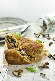 Croquettes with Mushrooms. Croquettes with Mushrooms (in Polish) Mushroom Dish, Pie Recipes, Side Dishes, French Toast, Stuffed Mushrooms, Chicken, Breakfast, Polish, Tarts
