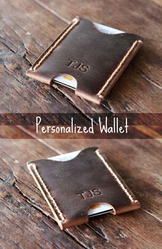 PERSONALIZED WALLET - The Perfect Valentine's Gift for Him: