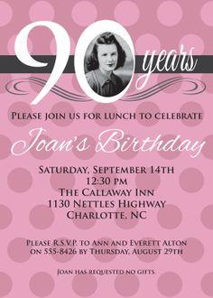 c775bb3337630bbd8266a262f33c680e harry birthday birthday 80th milestone birthday milestone birthdays,Birthday Invitations 90 Year Old Woman