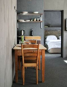 InAweStays Capetown Design Hotel, Küchen Design, Design Ideas, Interior Design, Cape Town South Africa, Outdoor Furniture Sets, Outdoor Decor, Tiny Houses, My Room