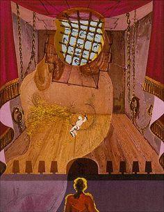 Salvador Dali, 1960's, Marquis de Sade.