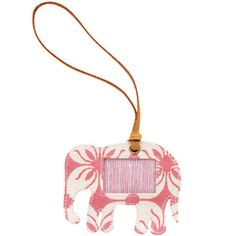 Darling luggage tag for baby girl!