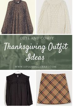 Thanksgiving Outfit Ideas - - Cute and comfy outfits for Thanksgiving Day! From dresses to sweaters and ponchos, here are my picks for the perfect Thanksgiving outfit. Punk Rock Outfits, Edgy Outfits, Fall Fashion Outfits, Mom Outfits, Fall Fashion Trends, Latest Fashion Trends, Autumn Fashion, Women's Fashion, Cute Christmas Outfits