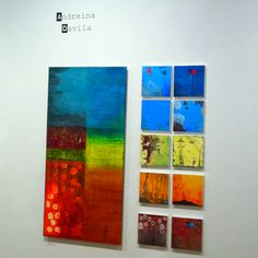 The show is up (www.facebook.com/AndreinaArt) has opening this Friday, 7 pm at City Art Co-op Gallery