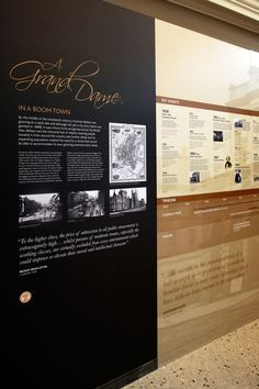 museum exhibit panels - Google Search