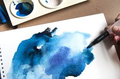 How to Experiment with Watercolour Paints