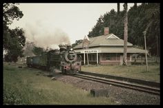 The old Gillits station British Colonial Style, Colonial Style Homes, Steam Railway, Kwazulu Natal, African History, Historical Society, Historical Photos, South Africa, Beautiful Places