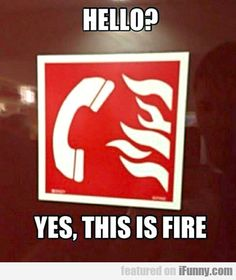 Hello? Yes, This Is Fire - http://teddybooboo.com/the_walking_dead_buzz/hello-yes-this-is-fire