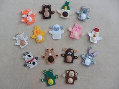 Hračky - Prstové bábky - 7038736_