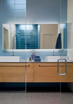 Pontatoc Residence Remodel - contemporary - bathroom - phoenix - Ibarra Rosano Design Architects
