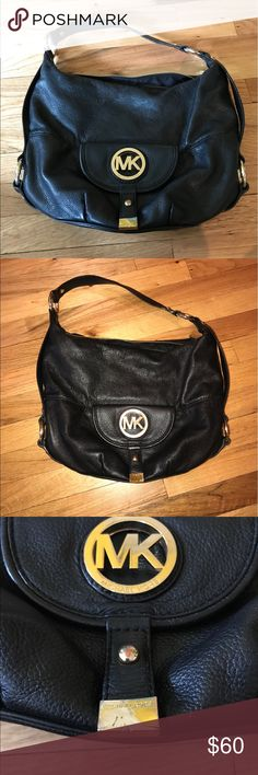 Michael Kors bag In used/good condition! Wear to the MK symbols, but well taken of overall! Michael Kors Bags