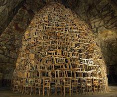 The design llama: Tadashi Kawamata fantastic wood huts and creations since 1977
