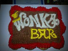 Wonka bar cupcakes