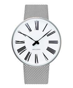 Arne Jacobsen / 43007  Roman Watch Mesh 40mm