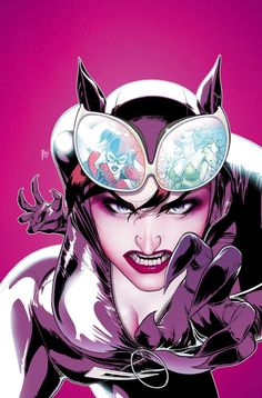 """comic-book-ladies: """" Gotham City Sirens by Guillem March """" DC Comics - Catwoman - Selina Kyle"""