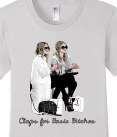 Olsen Twins T-shirt obsession from OnFleek Gossip Girl Fashion, Olsen Twins, Closet Essentials, Make Design, Suits You, Girl Style, Branded T Shirts, Cute Tops, Beautiful Outfits