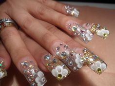 bling bling by chancleto30 - Nail Art Gallery nailartgallery.nailsmag.com by Nails Magazine www.nailsmag.com #nailart
