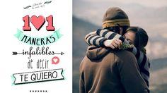Libro 101 maneras infalibles de decir te quiero. http://sorpresasparatupareja.com/2015/05/22/libro-101-maneras-de-decir-te-quiero/