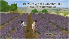 Aminovas Sims - Lavender Default Override#Sims3