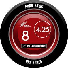 DNZ Football Buttons: April 25 SC                                                                                                                                                                                 Mais