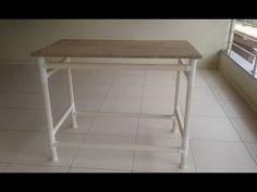 PVC PASSO A PASSO: Mesa desmontável feita  de cano PVC fácil de fazer...