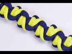 How to make: Solomon's Mountain Paracord Bracelet by GianOneil - YouTube