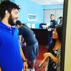 Amanda from China is talking with Mehmet from Turkey about how she's moving from the Mission Valley campus of Connect English to the La Jolla-UTC campus. She just got a new apartment in the UTC area, so our campus for North San Diego is the most convenient for her. Transferring is so easy!  www.ConnectEnglish.edu  #StudentCommunity #MissionValley #FashionValley #LaJolla #GreatStudents #GreatSchool #GreatTeachers #GreatClasses #SanDiego #SoCal #StudyInCalifornia #InternationalStudents #UCSD…