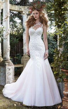Online Sale Mermaid Floor-length Wedding Dresses