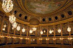 remarquable interieur du château de Versailles