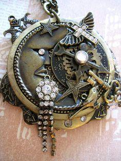 Steampunk Goddess Necklace!