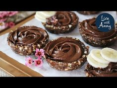 Raw Cake, Low Carb, Vegan, Fitness, Recipes, Food, Youtube, Biscuits, Thermomix
