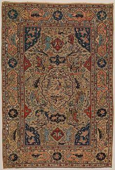 Carpet, Iran, 16th century - metmuseum