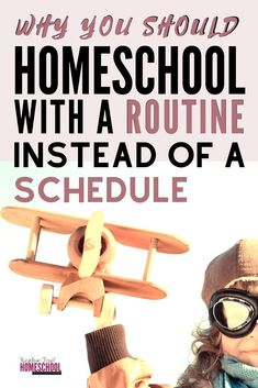 Homeschooling with a routine simply means that we follow the same order of tasks each day without letting time dictate how long we spend on each subject. With a schedule you follow the same order each day with a certain time frame to complete each subject, stopping when time runs out. Find out why I believe a homeschool routine works better than a homeschool schedule.