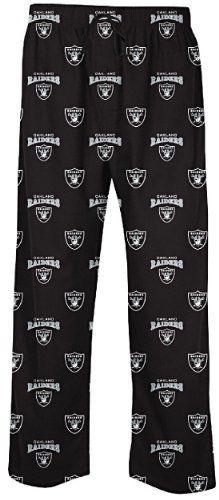 4361700dd34 Oakland Raiders Men s Supreme Pajama Pants by Concepts Sports