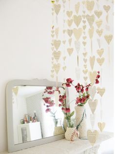 Such a cute idea for your bedroom!!Dottie Angel
